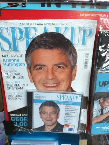 George Clooney en Speak Up
