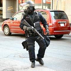 Riot Squad on Yonge Street