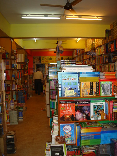 Panjim bookshop: Broadway by you.