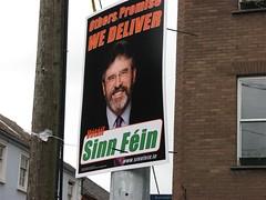 Ireland - Sinn Fein political poster