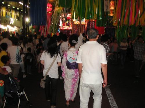 Tanabata en Hiratsuka
