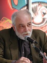 Alfredo Castelli in una foto di Gianfranco Goria