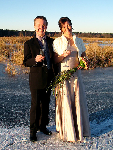 Leo and Åzas new years eve wedding