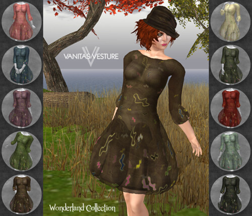 Vanitas Vesture - Wonderland - Mercurial Dress