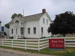 Ernie Pyle home