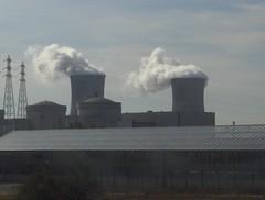 Centrale nucléaire de Pierrelatte (26) - Nov 2006