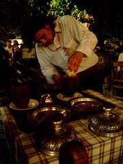 Turkish Casserole Baked in Terracota Pots