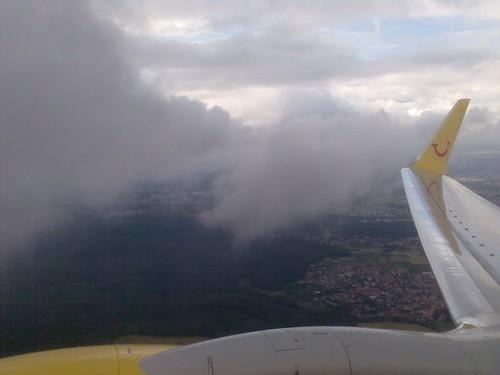 Au milieu des nuages