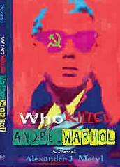 Who Killed Andrei Warhol an absurdist tragicomedy