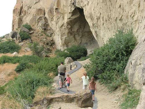 Headed toward Ghost Cave