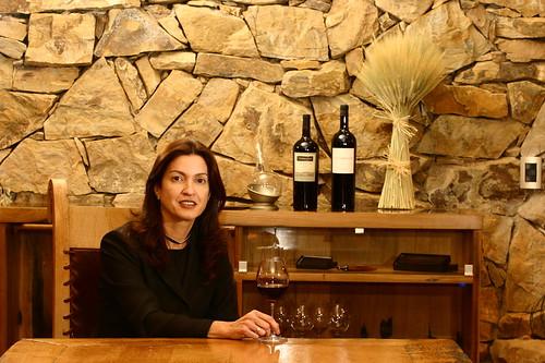 Margareth Henr?quez, Bodegas Chandon y Terrazas de Los Andes