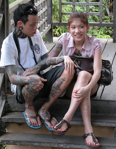 Amazing Tattoo Heavily Tattooed