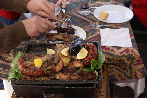 mini asado voor 2 personen is dit! ;)