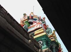 Vimanam of the main shrine