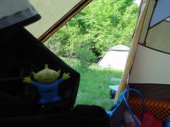 Alien in the tent