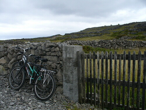 On the way to the Black Fort, Inishmore, Ireland