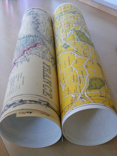 Maps of two places I love