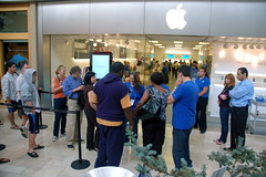 iPhone 4 launch, Apple Store Chestnut Hill