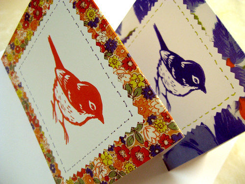New sparrow notecards.