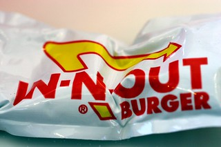 in-n-out burger, ketchup