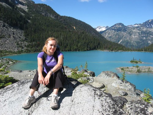 Me, enjoying the splendour of Joffre Lakes, BC