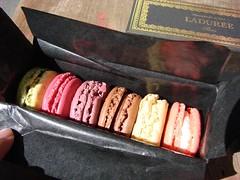 Ladurée五彩繽紛的Macarons