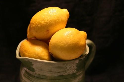 Lemons for the cake