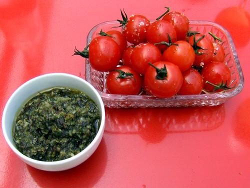 Tomates et Tartare d'Algues
