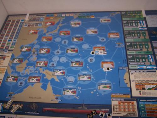 Silent War mapa