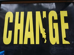Poster of the word Change
