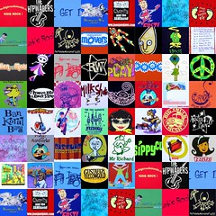Collage of all the t-shirts submitted for the HFVS t-shirt review.