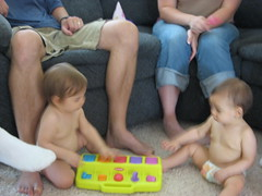 the twins 1st birthday party 036