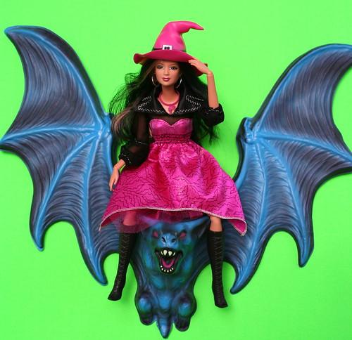 Batty, Bewitching Barbie