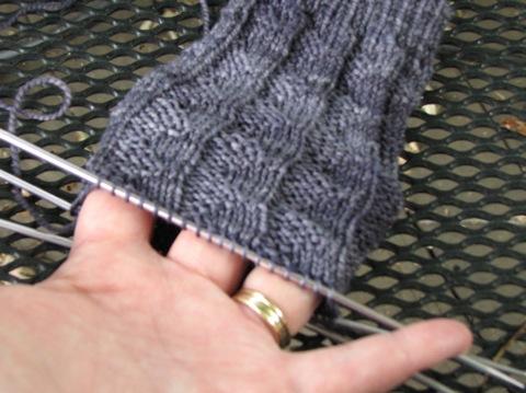 Pennant Stitch Sock