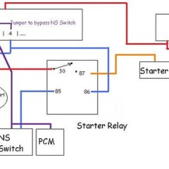 Neutral Safety Switch Wiring Diagram Farmall Super A Distributor Lokar Troubleshooting The Starter Circuit 5 9l Magnum V8 Archive Spal