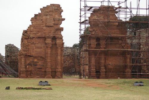San Ignacio voorkant van kerk