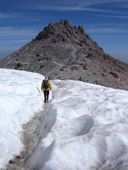 15 more minutes to reach the summit of Lassen Peak!