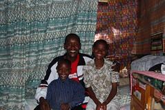 Wilson Maina and his family