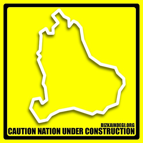 Bizkaiko EGI - caution nation under construction