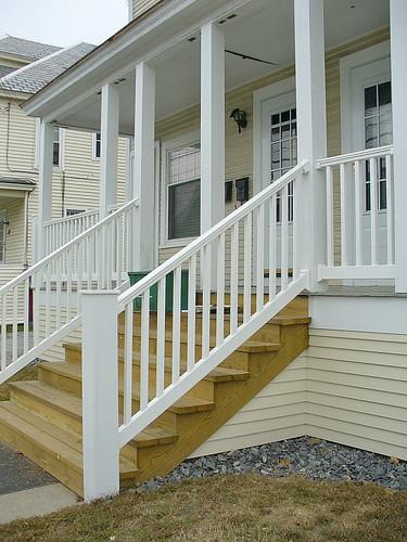 New steps & railing