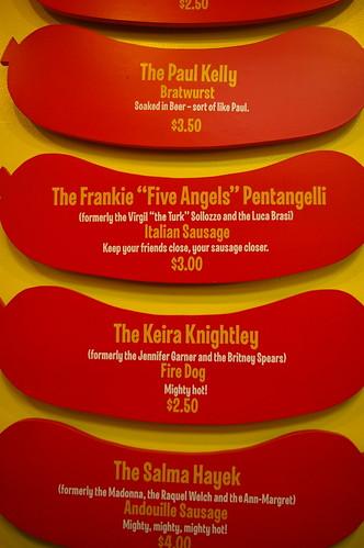 Hot Doug's - menu II