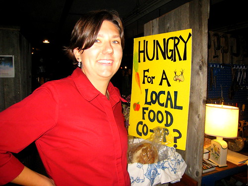Maggie's hungry for a local food co-op