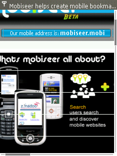 mobiseer on Nokia E65