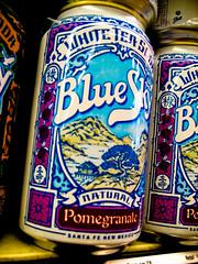 Pomegranate Blue Sky Soda