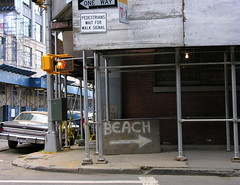 Sign on Furman Street
