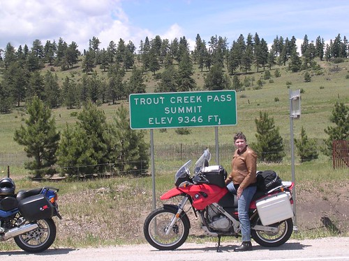 50 Colorado Passes on a Motorcycle