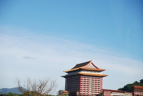 圓山大飯店的藍天