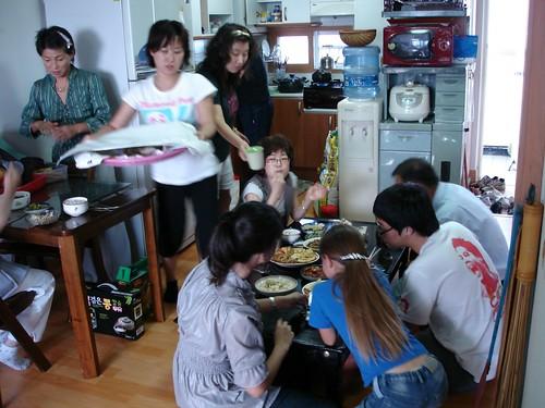 Chusok Familientreffen