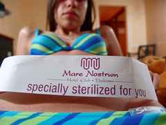 Specially sterilized for you..
