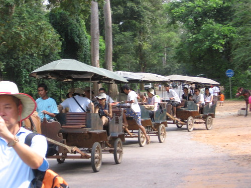 Las caravanas de Angkor by you.